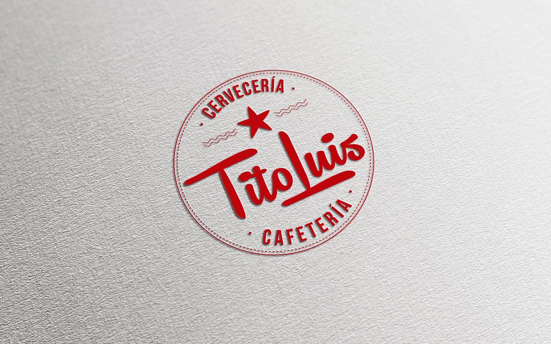 Diseño logotipo para Tito Luis