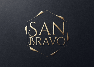 Diseño logotipo para San Bravo