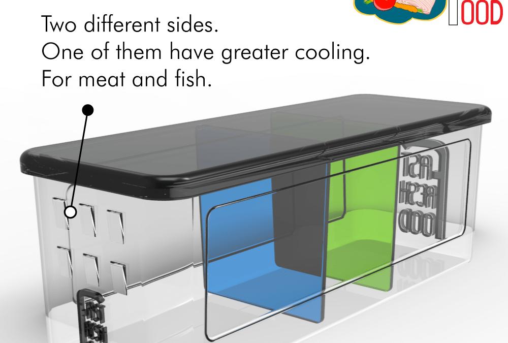 Diseño de producto Fast Fresh Food